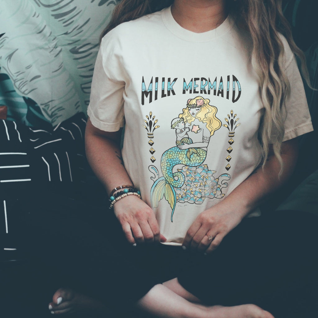 « MILK MERMAID » UNISEX TEE