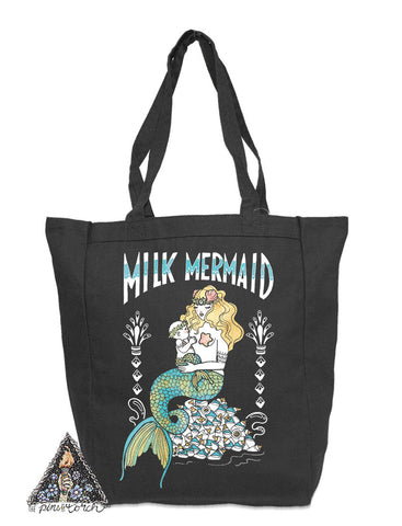 « MILK MERMAID » TOTE BAG