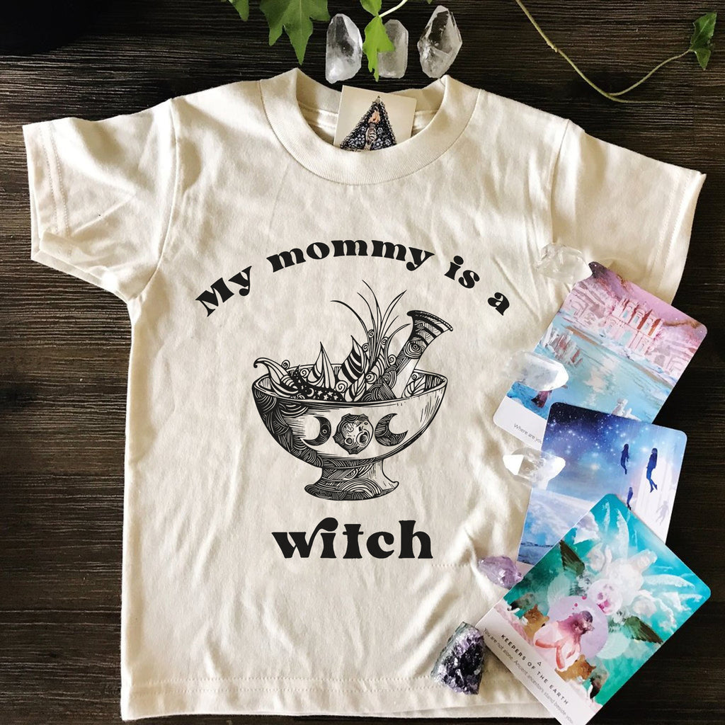 « MY MOMMY IS A WITCH » KIDS TEE