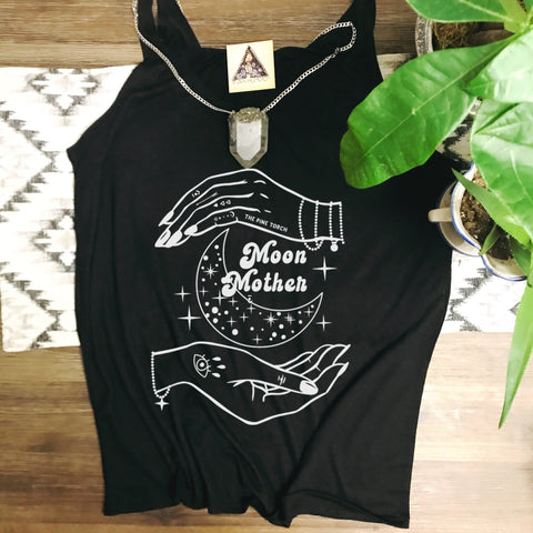 « MOON MOTHER »  SLOUCHY TANK
