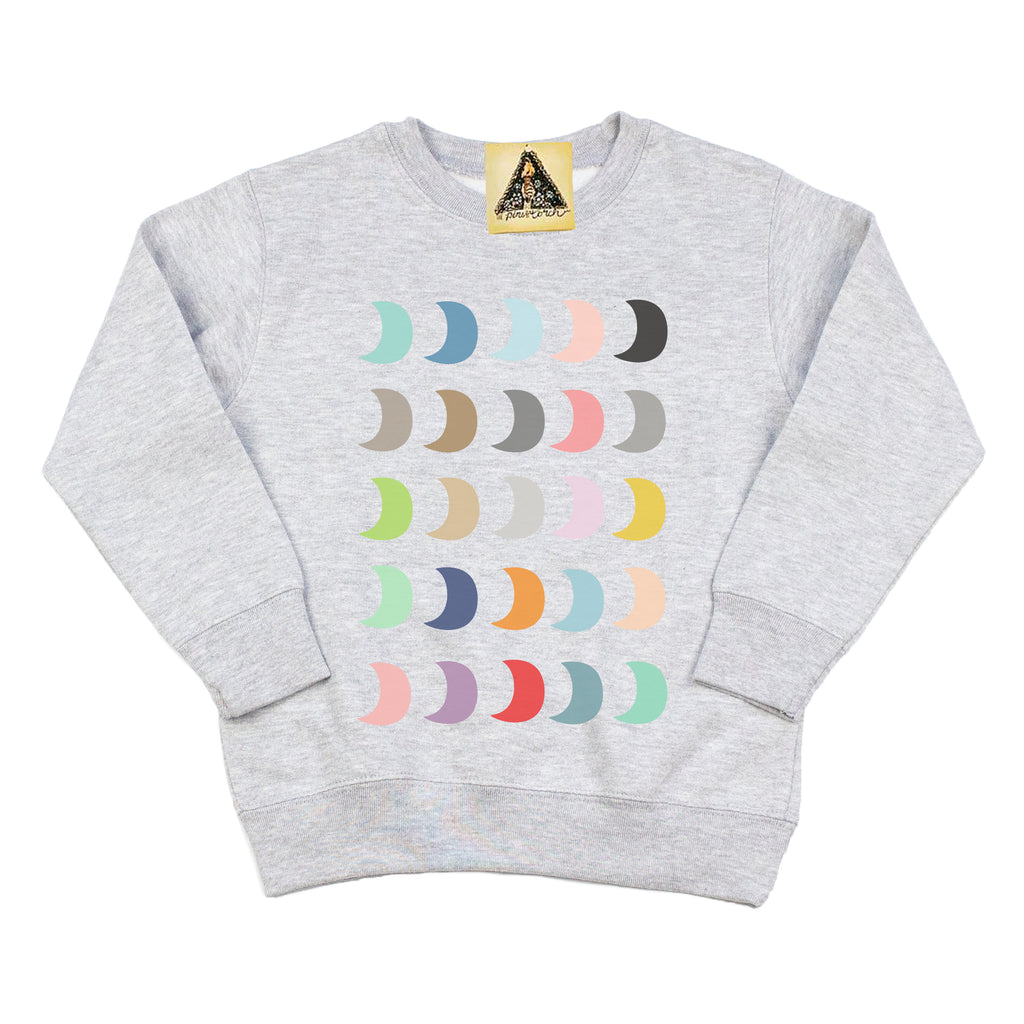 « EVERY PHASE OF ME » KID'S PULLOVER