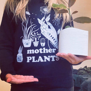 « MOTHER OF PLANTS » UNISEX PULLOVER