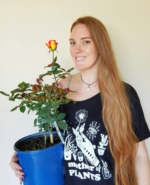MD SALE « MOTHER OF PLANTS » WOMEN'S SLOUCHY OR UNISEX TEE