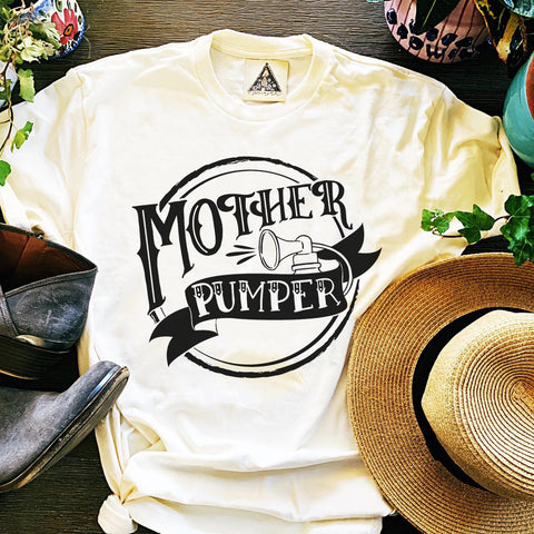 « MOTHER PUMPER » WOMEN'S TANK