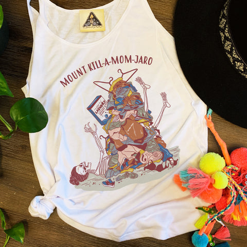 « MOUNT KILL-A-MOM-JARO » SLOUCHY TANK