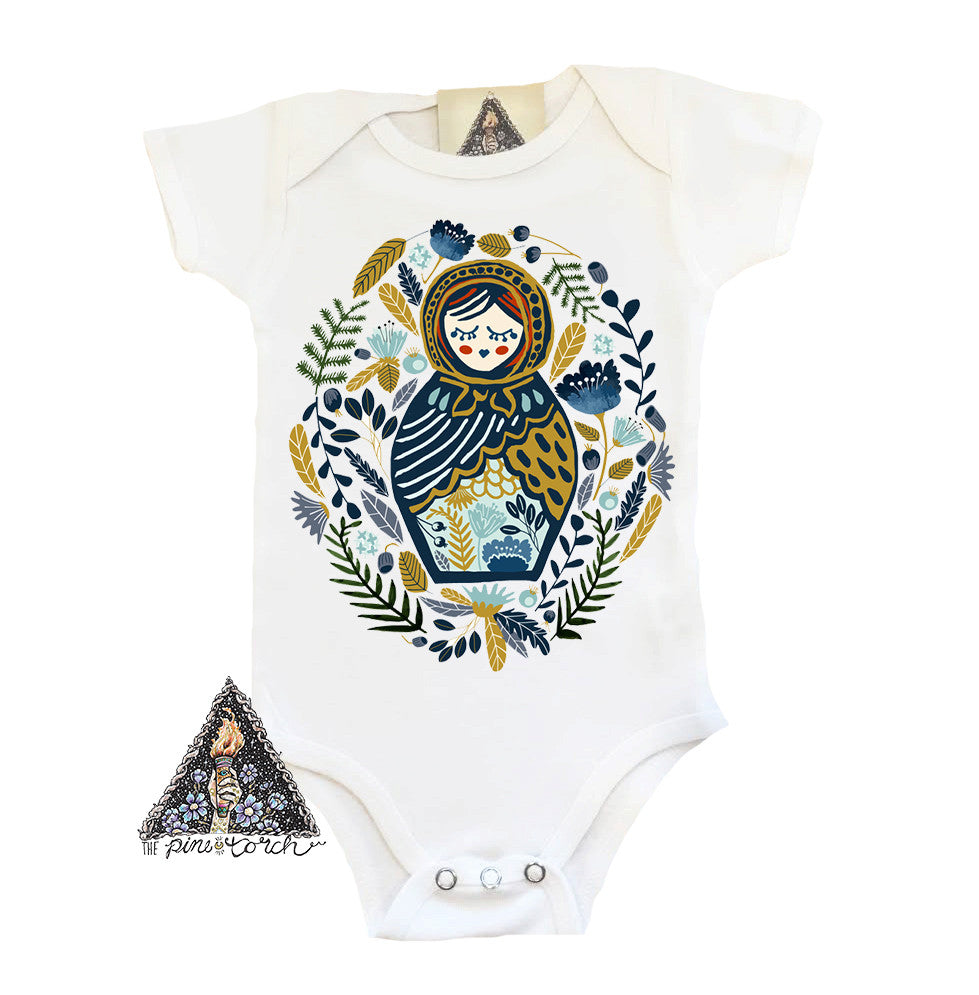 « DOLL FACE MATRYOSHKA » BODYSUIT