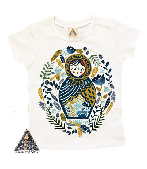 « DOLL FACE » KID'S TEE