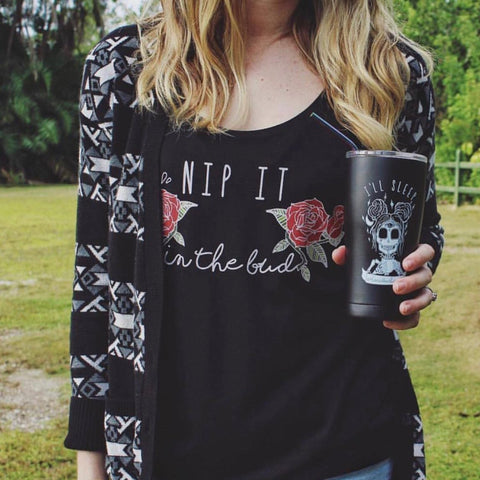 « NIP IT IN THE BUD » WOMEN'S SLOUCHY TANK