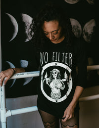 « NO FILTER » WOMEN'S SLOUCHY OR UNISEX TEE