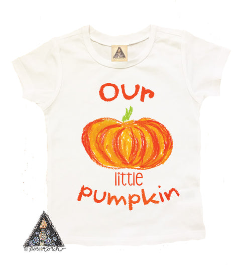 « OUR LITTLE PUMPKIN » KID'S TEE