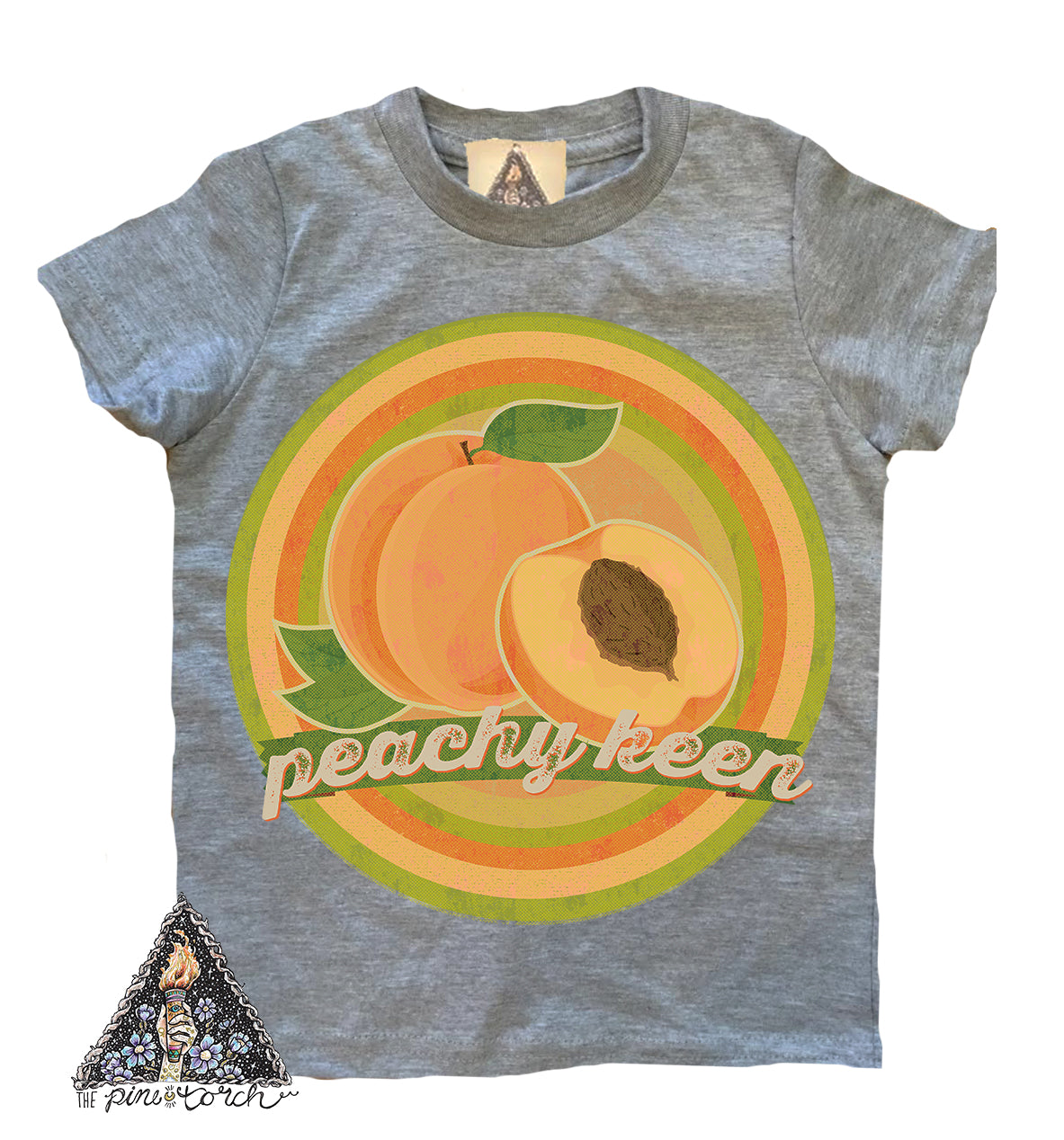 85d6134bf78 PEACHY KEEN » YOUTH TEE – The Pine Torch