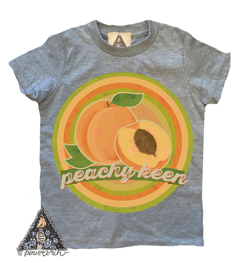 « PEACHY KEEN » YOUTH TEE