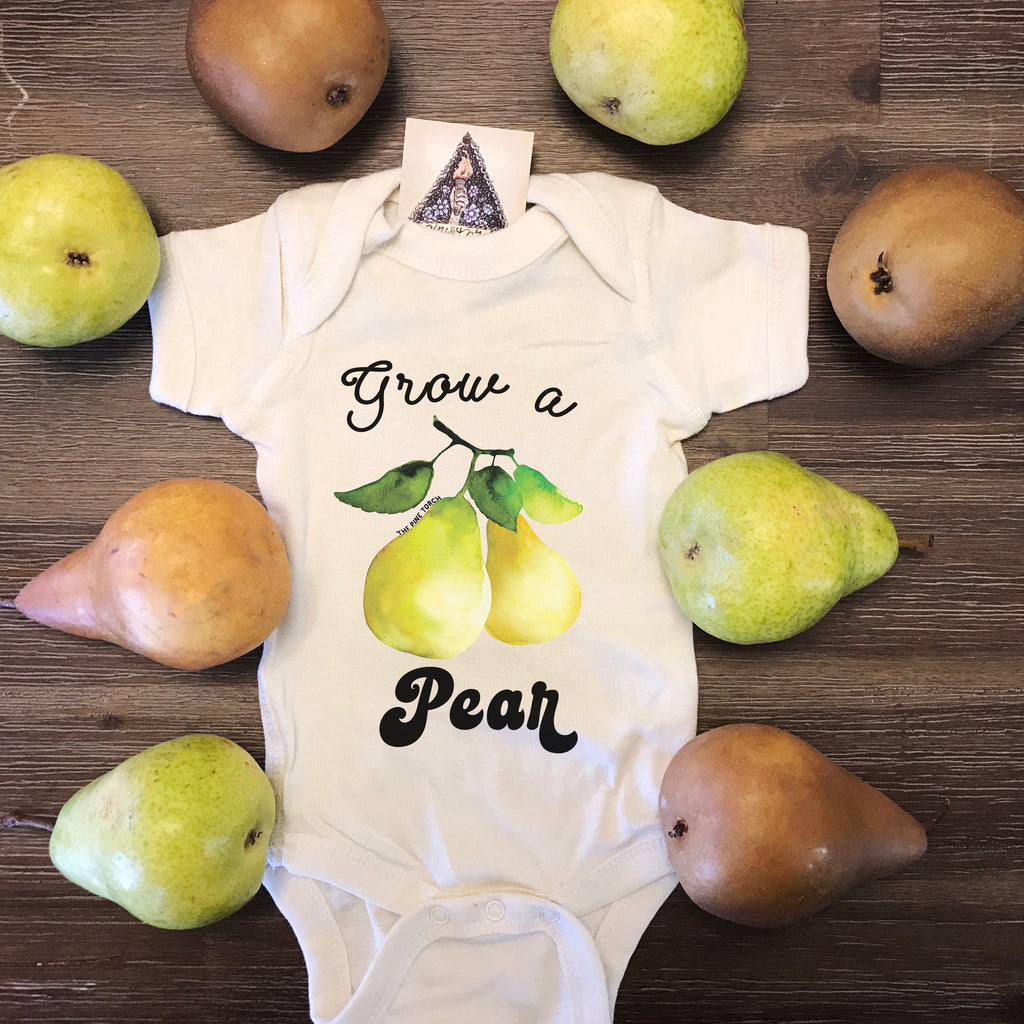 « GROW A PEAR » BODYSUIT