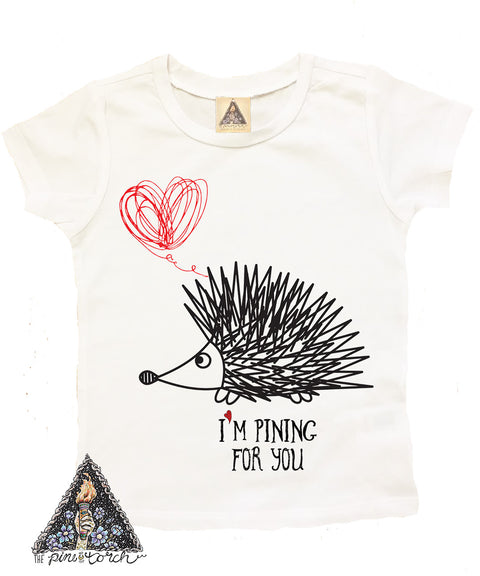 « PINING FOR YOU » KID'S TEE