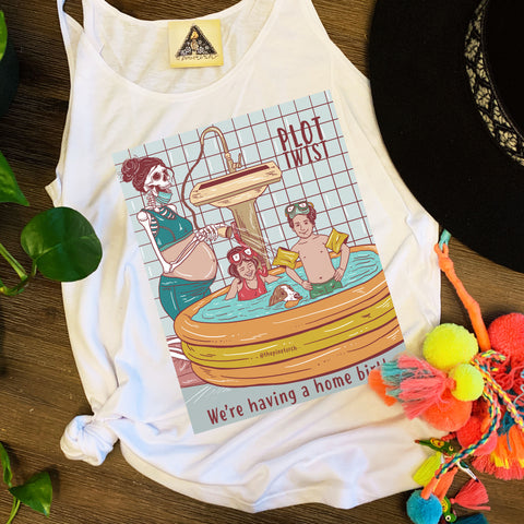« PLOT TWIST: HOME BIRTH » SLOUCHY TANK