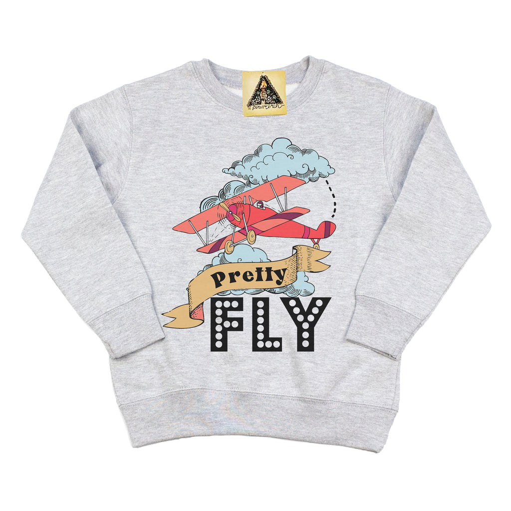 « PRETTY FLY » KID'S PULLOVER