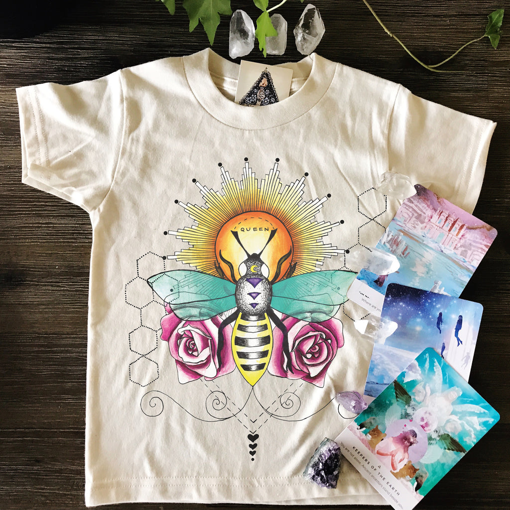 « QUEEN BEE » KID'S TEE