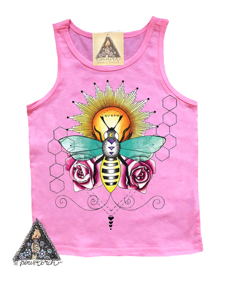 « QUEEN BEE » KIDS TANK