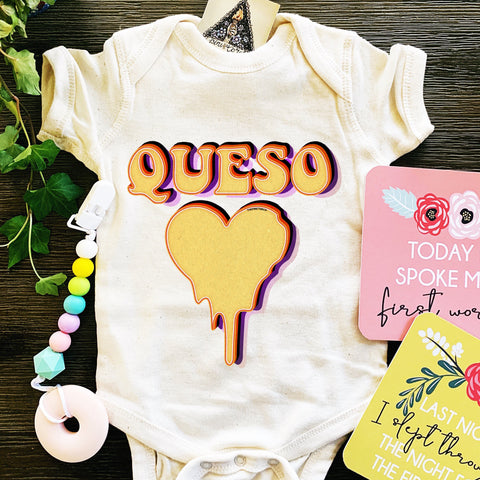 « QUESO LOVE » BODYSUIT