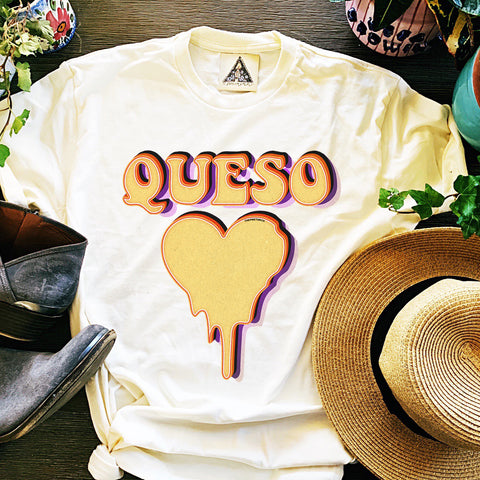 « QUESO LOVE » CREAM UNISEX TEE