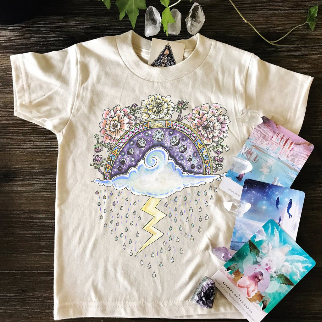 « RAINCLOUD » KID'S TEE