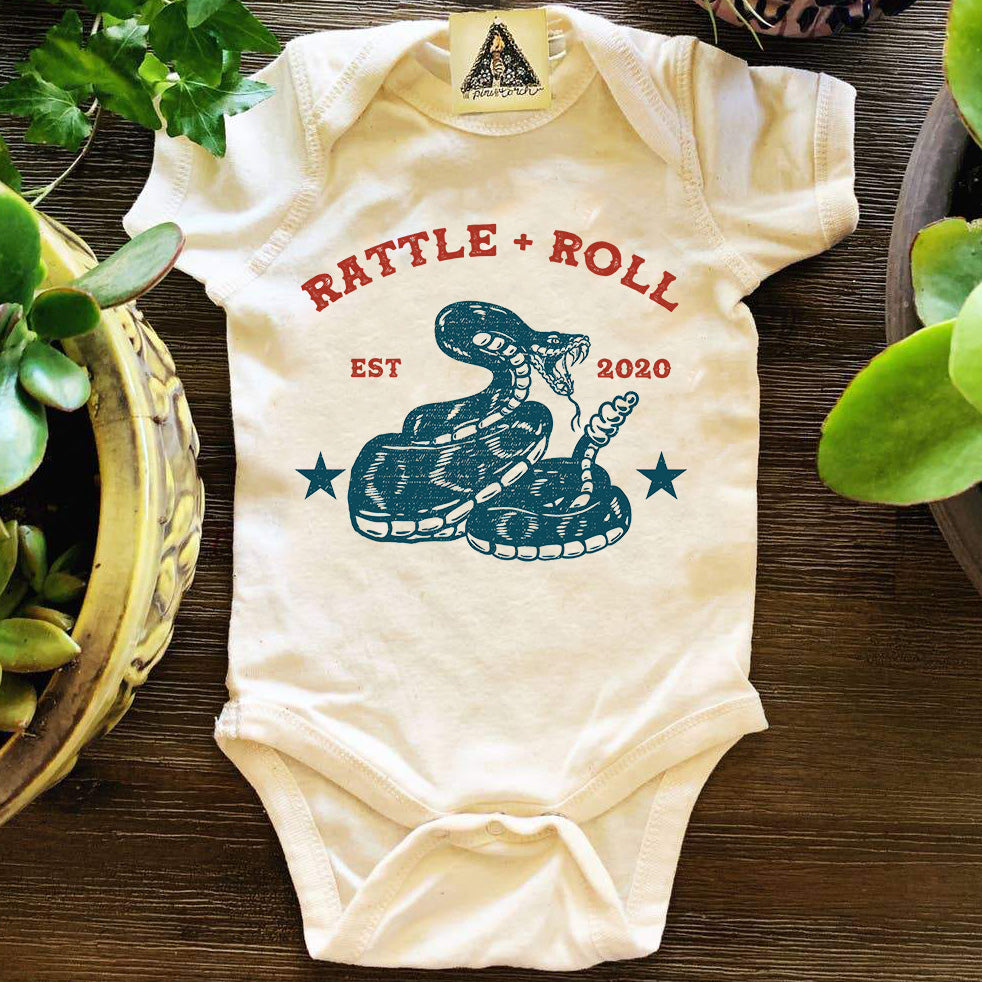 « RATTLE AND ROLL » BODYSUIT