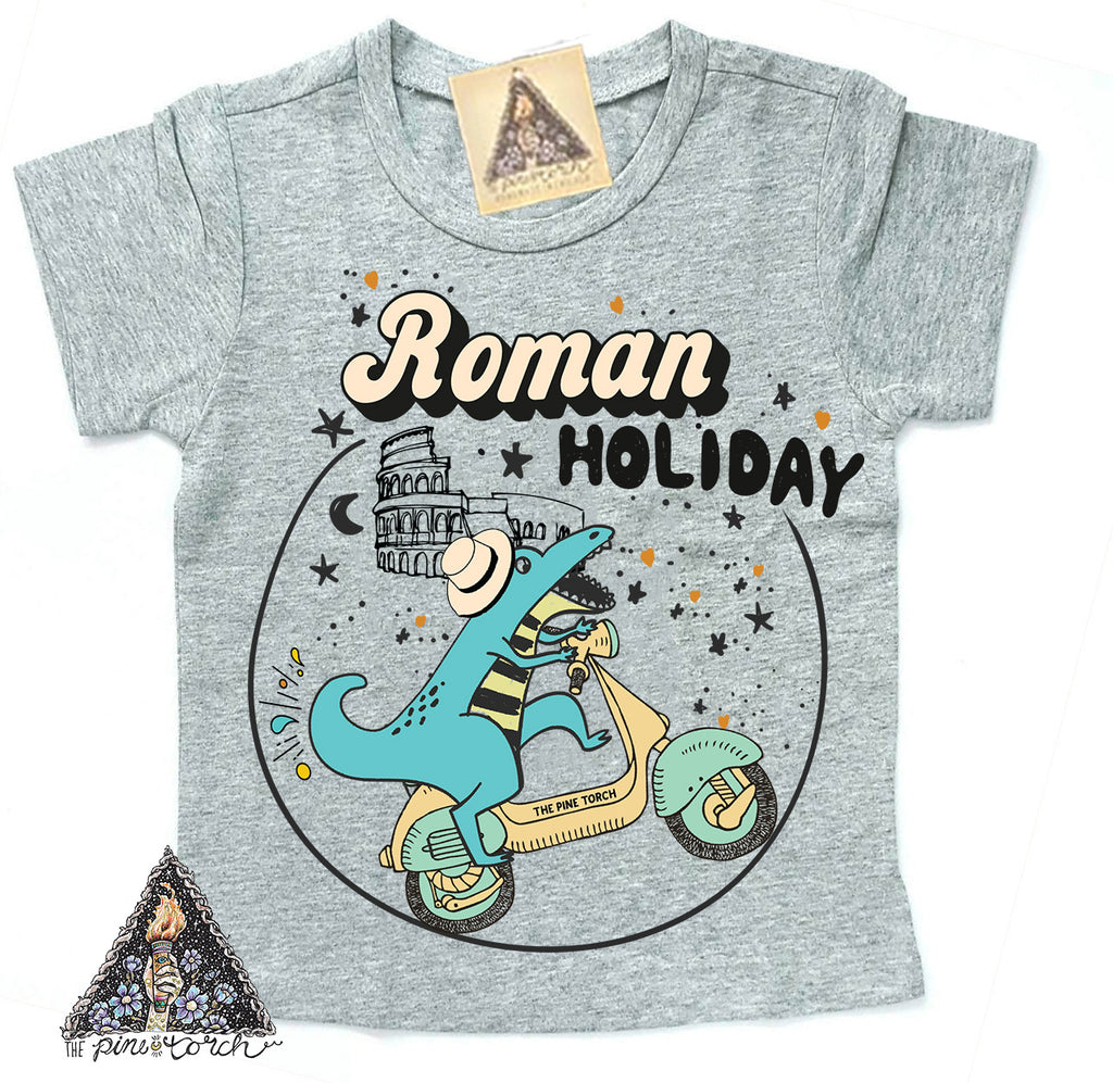 « ROMAN HOLIDAY » KIDS TEE (4 colors)