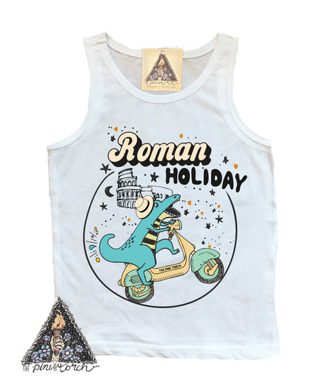 « ROMAN HOLIDAY » KIDS TANK
