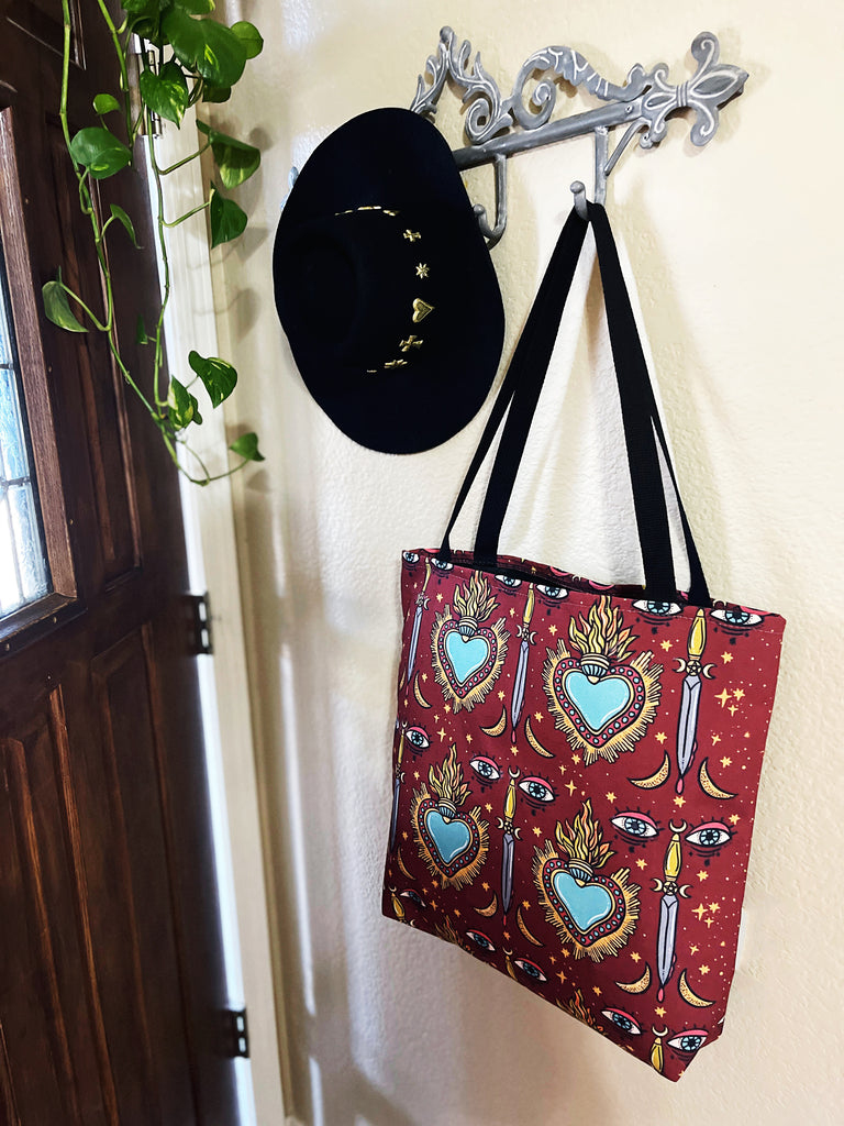 SACRED HEART // TOTE BAG (3 Sizes)