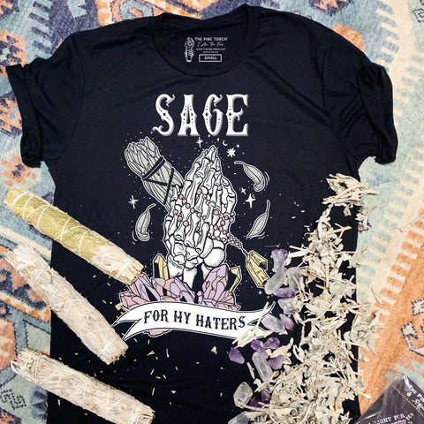 « SAGE FOR MY HATERS » UNISEX TEE