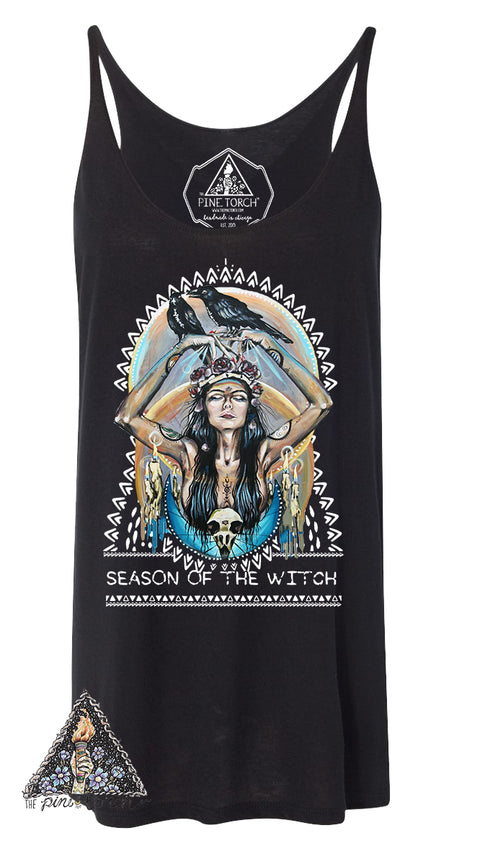 « SEASON OF THE WITCH » WOMEN'S SLOUCHY TANK