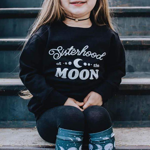 « SISTERHOOD OF THE MOON » KID'S PULLOVER