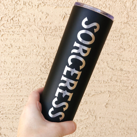 SORCERESS « 22 oz STAINLESS STEEL TUMBLER »
