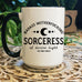 « BADASS MOTHERFUCKING SORCERESS » MUG