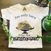 « HERE FOR THE SPANAKOPITA » KID'S TEE