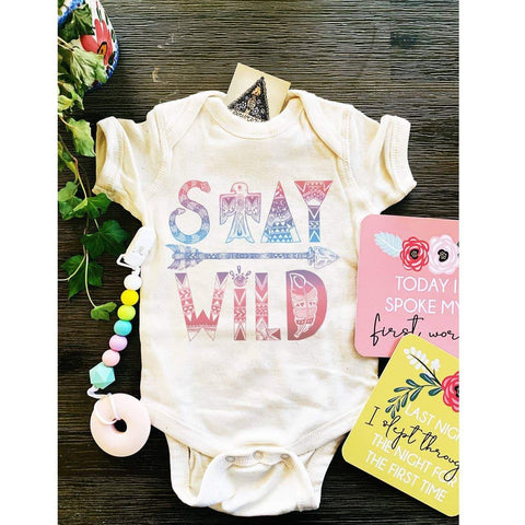 « STAY WILD » BODYSUIT