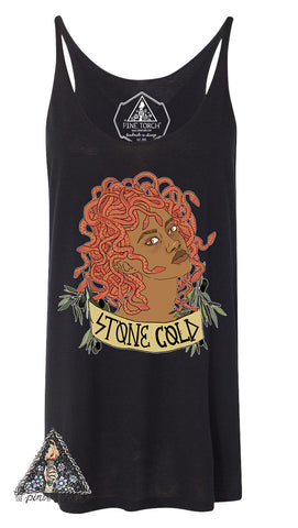 « STONE COLD » WOMEN'S SLOUCHY TANK