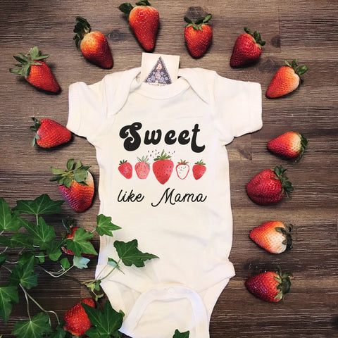 « SWEET LIKE MAMA » BODYSUIT