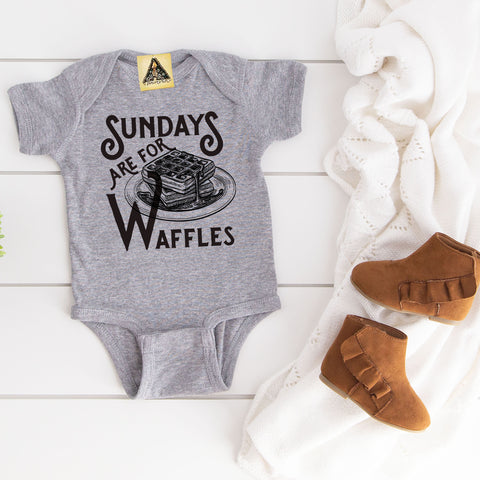« SUNDAYS ARE FOR WAFFLES » BODYSUIT