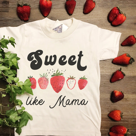 « SWEET LIKE MAMA » KID'S TEE