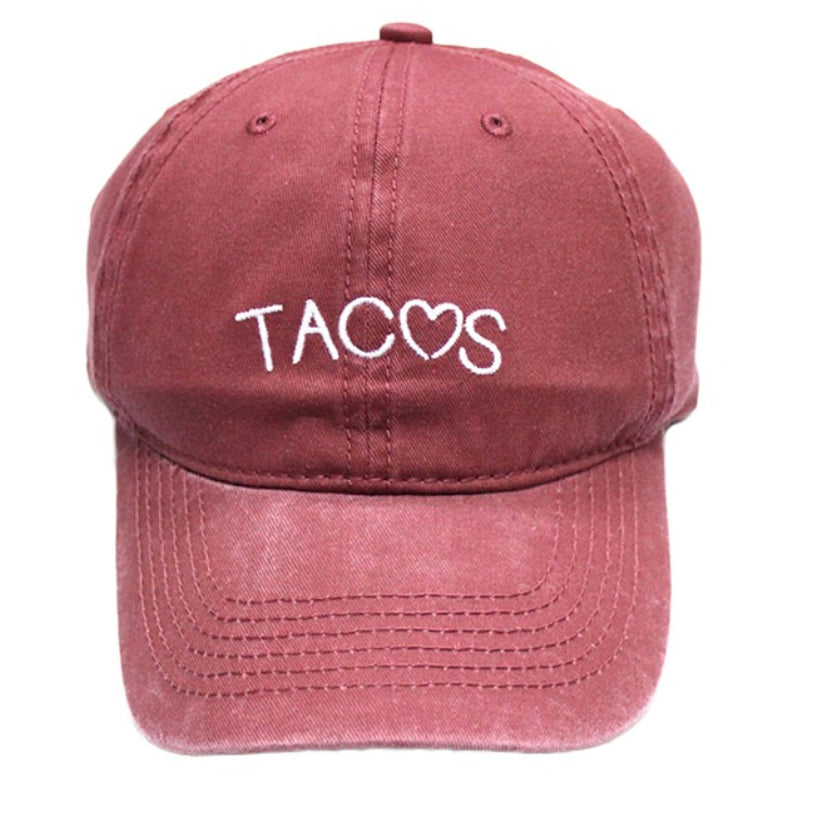 BLACK FRIDAY EXCLUSIVE « TACO LOVE » EMBROIDERED HAT