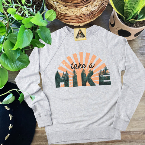 « TAKE A HIKE » UNISEX PULLOVER