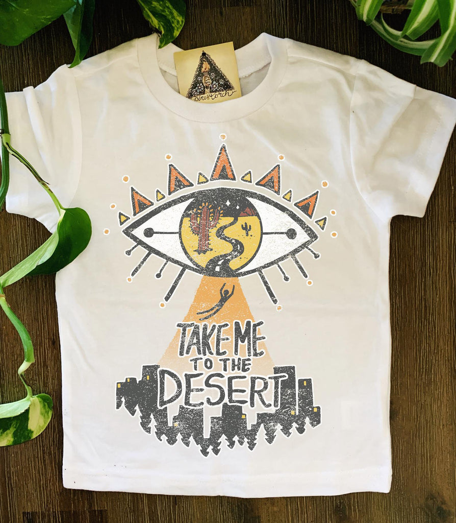 « TAKE ME TO THE DESERT » KID'S TEE