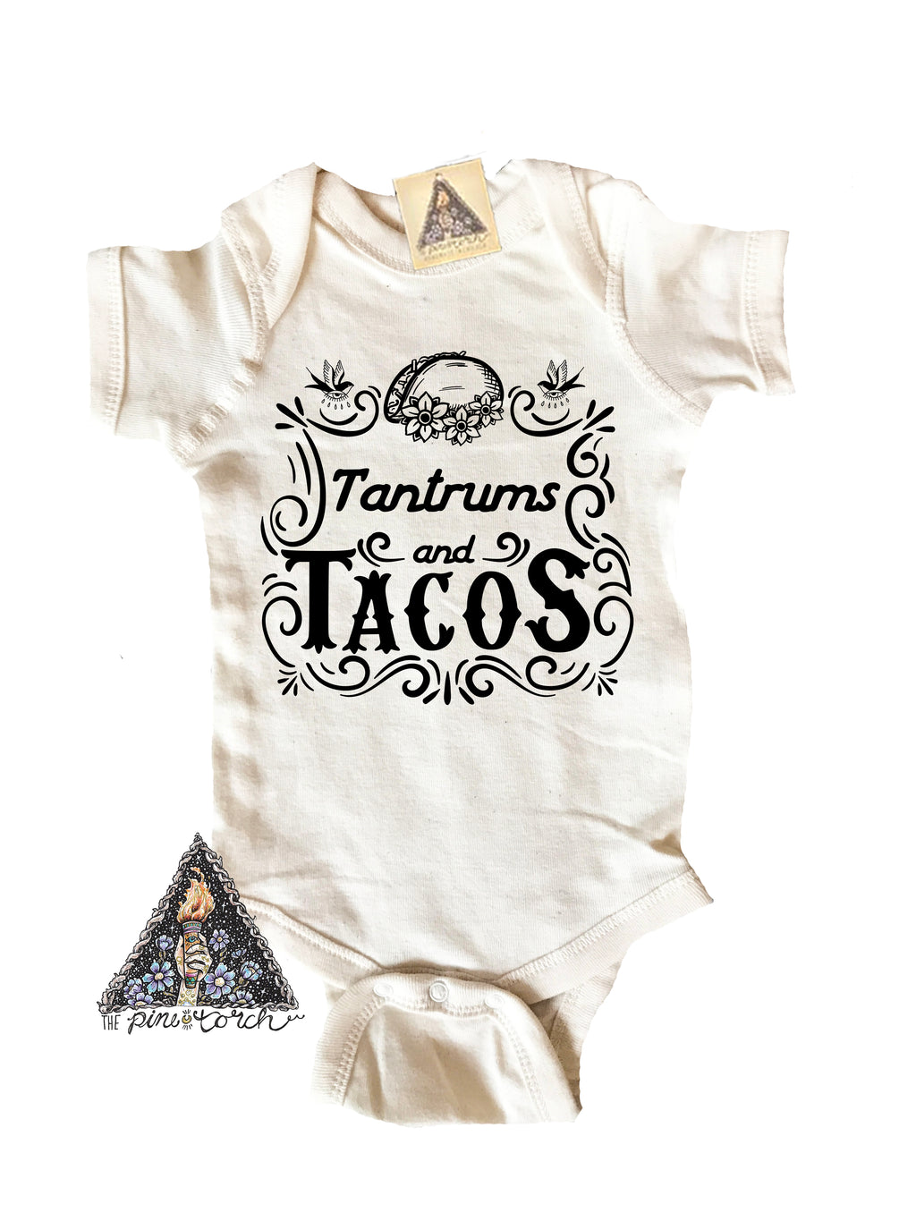« TANTRUMS AND TACOS » BODYSUIT