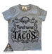 « TANTRUMS AND TACOS » CREAM KID'S TEE