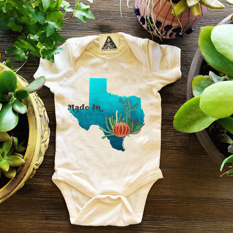 « MADE IN TEXAS » BODYSUIT