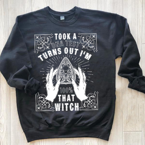 « THAT WITCH » UNISEX PULLOVER