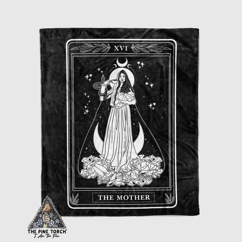 << THE MOTHER >> BLANKET