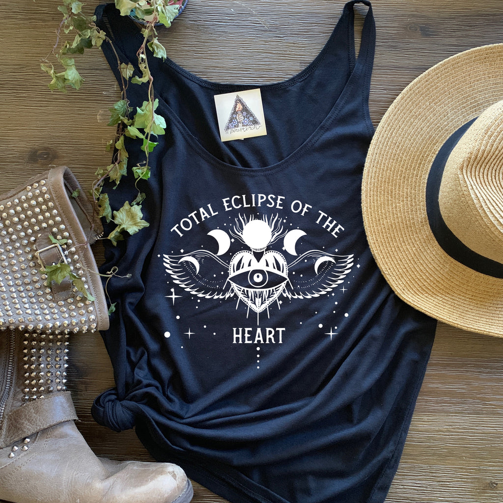 « TOTAL ECLIPSE OF THE HEART »  SLOUCHY TANK