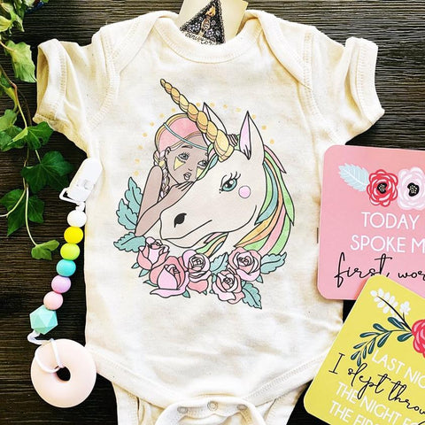 « UNICORN GIRL » BODYSUIT